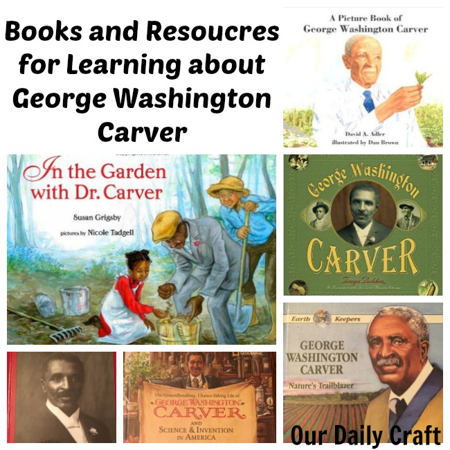 Learn about George Washington Carver with this collection of books and activities.