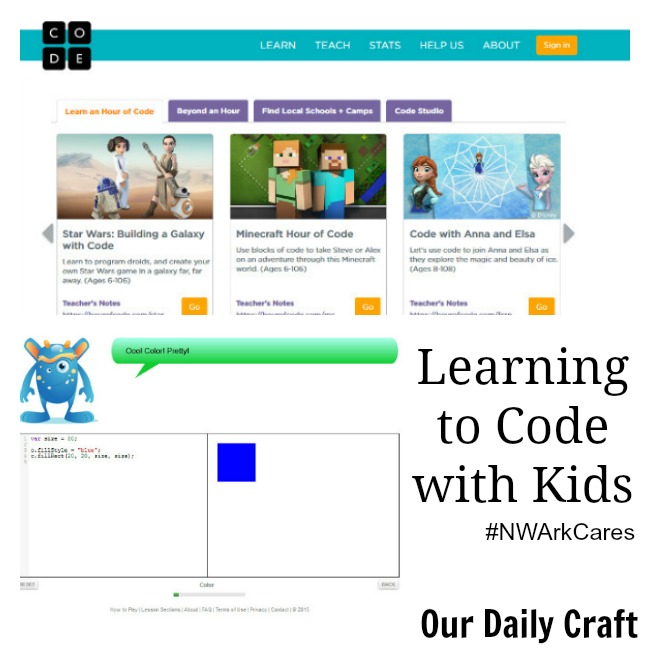 Resources for learning to code with your kids