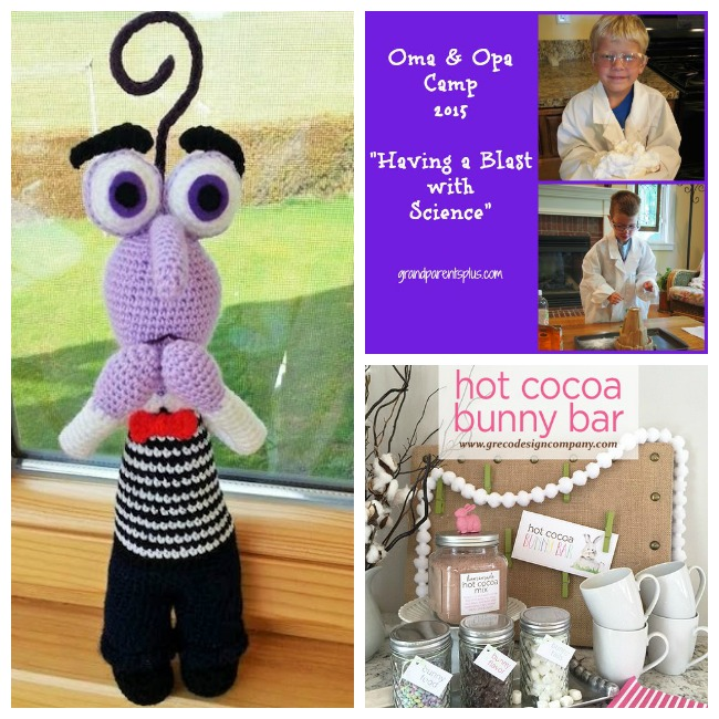 Creatively Crafty link party week 8 features