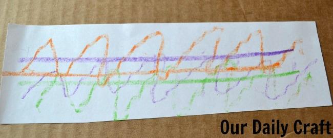 textured scribbles