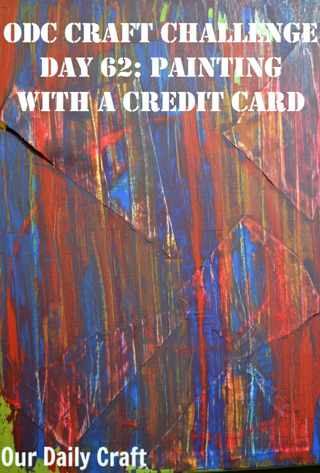 Ad more paint to your slow art canvas with a credit card