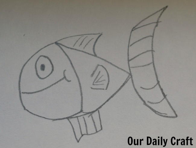 fish drawing learn to draw