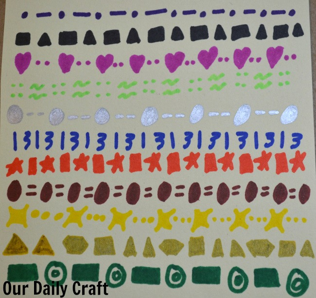 make a repeating pattern