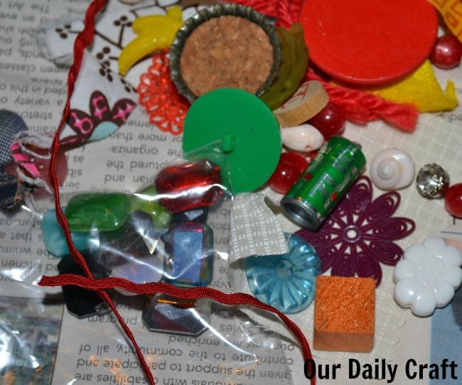 junk drawer craft items