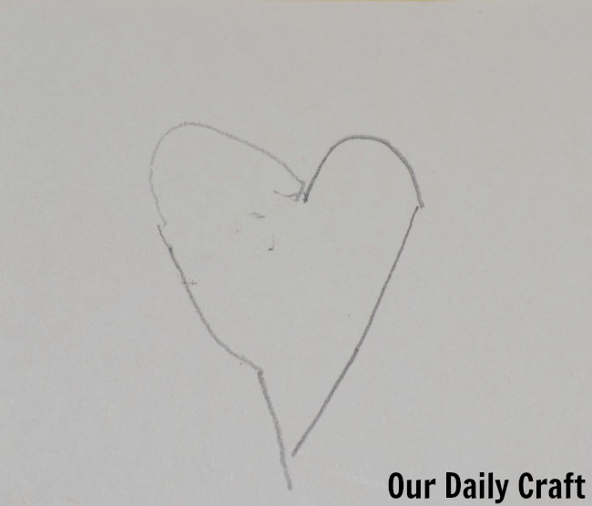 heart drawn with two hands