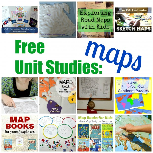 map unit study resources