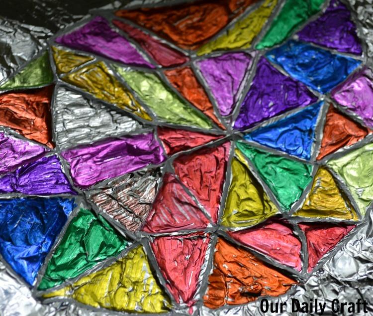 aluminum foil coloring