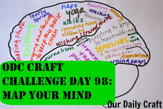 Map Your Mind {Craft Challenge, Day 98}