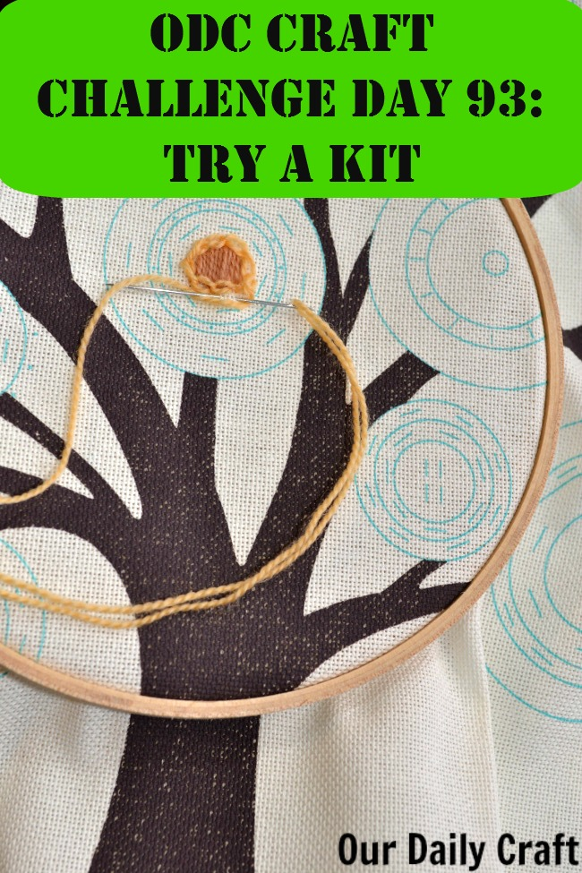 Try a Craft Kit {Craft Challenge, Day 93}