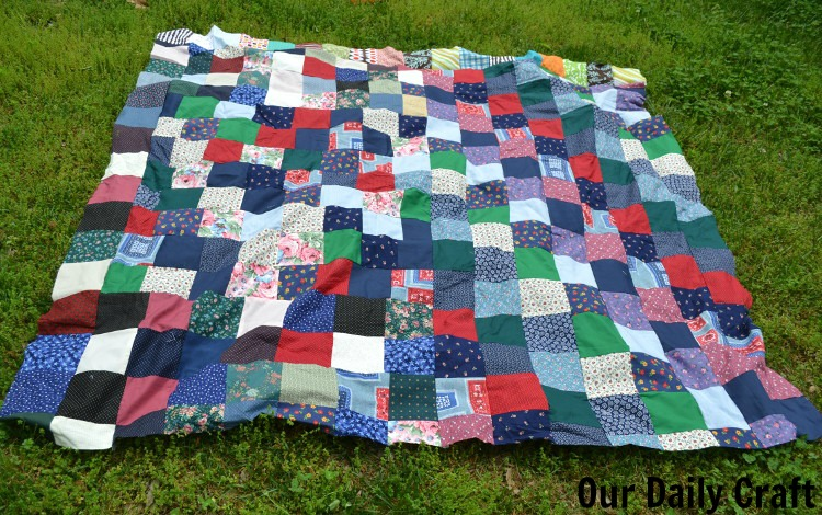 quilt out of hibernation