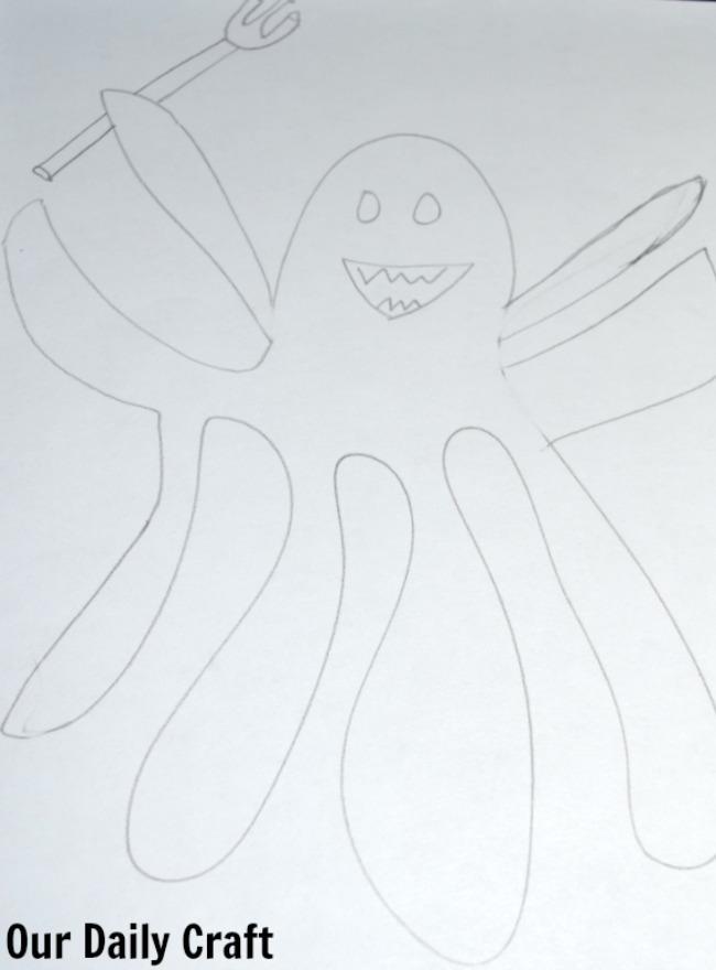 octopus sea monster