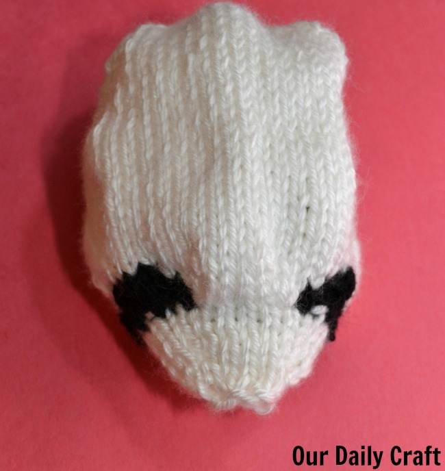 panda head knitting