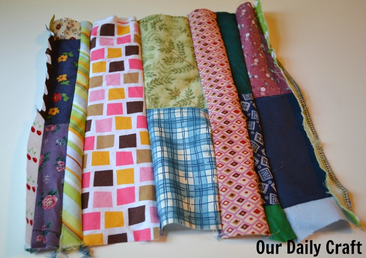 fabric scrap fabric