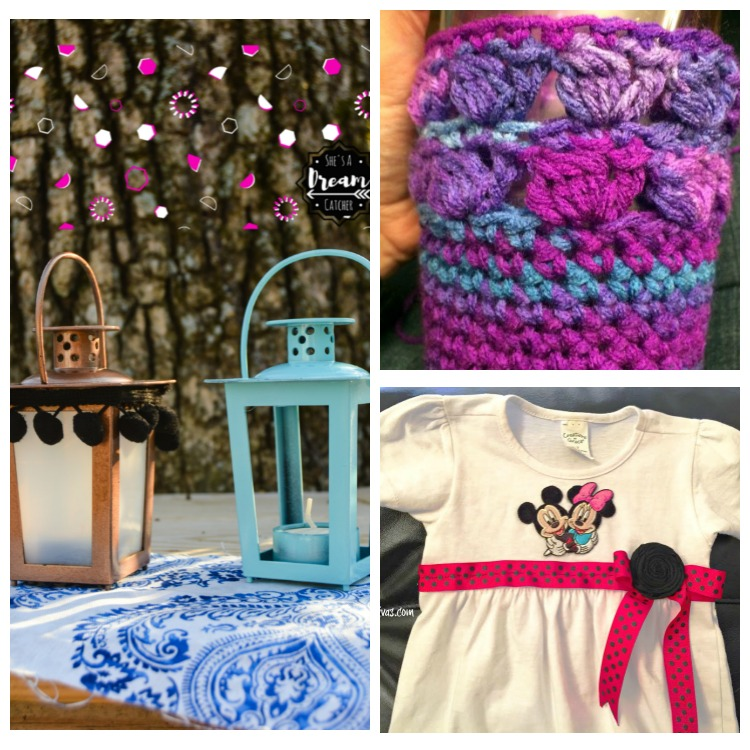 Creatively Crafty link party features week 13