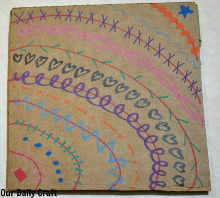 cardboard doodle permapaque
