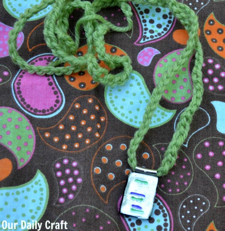 crochet chain jewelry