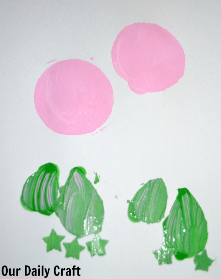 making stencils with paper punches