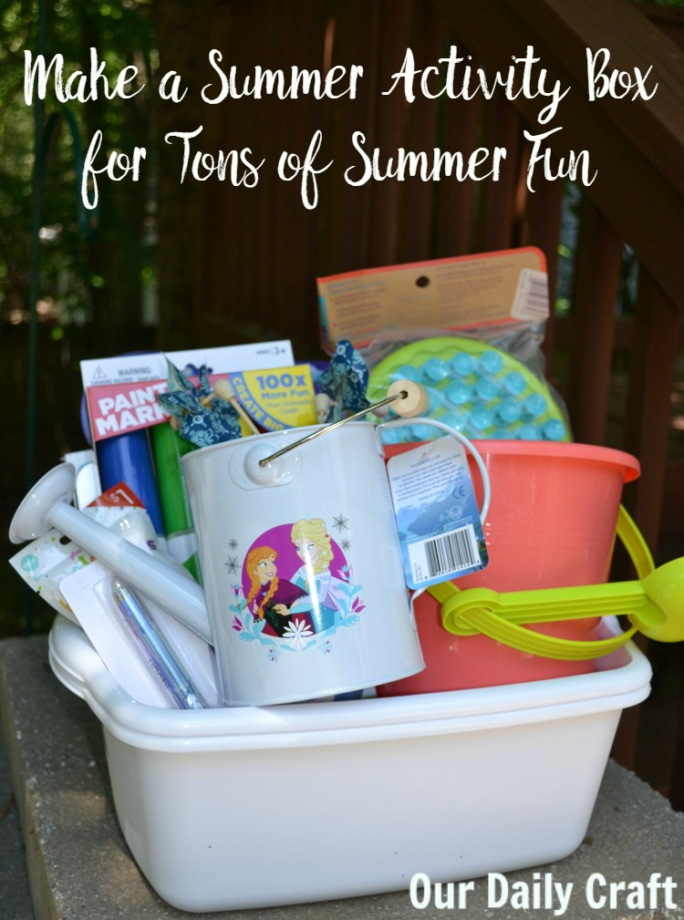 Get Ready for the Break with a Summer Activity Box