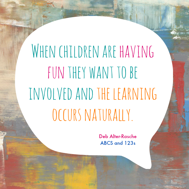 ABCs and 123s quote