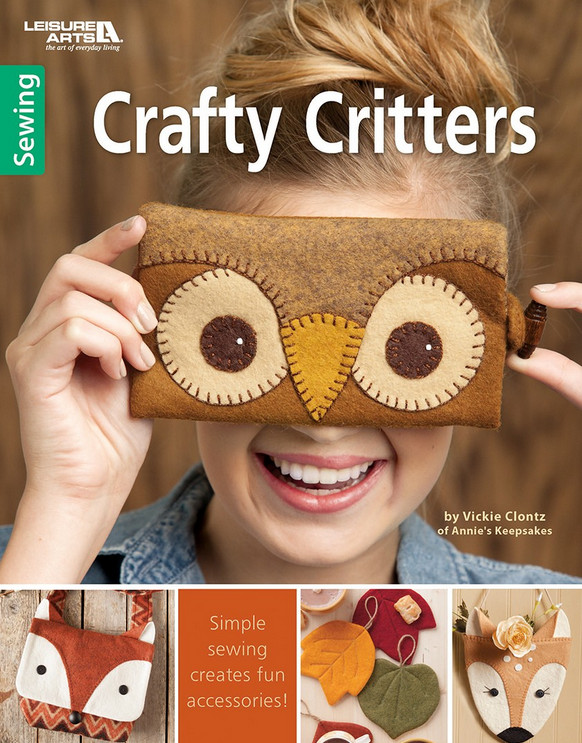 Crafty Critters book review