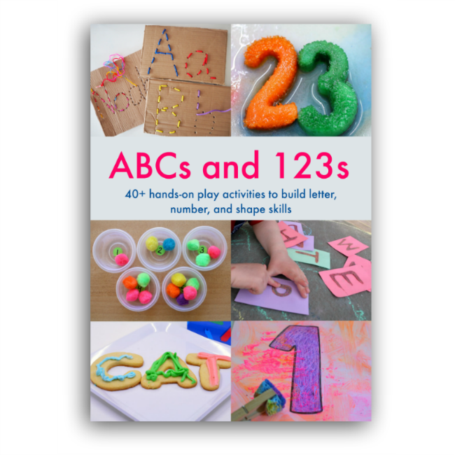 Help Your Kids Learn Letters and Numbers Through Play