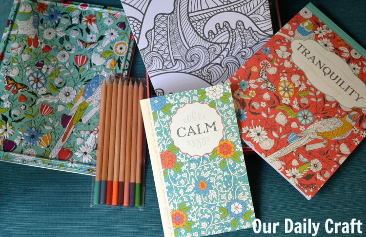 coloring books for adults gift pack