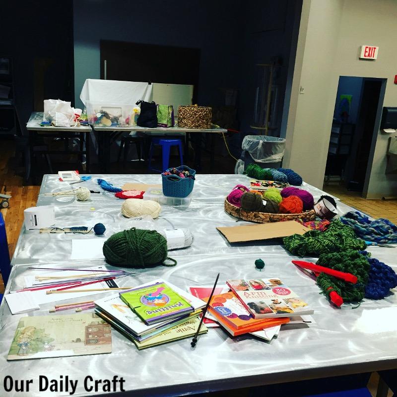 fiber arts classroom