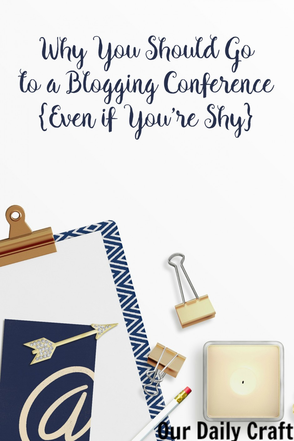 Why you should go to a blogging conference even if you're shy.