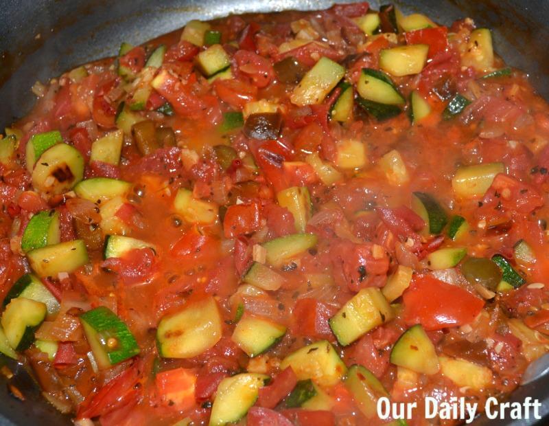 farmers' market pasta sauce