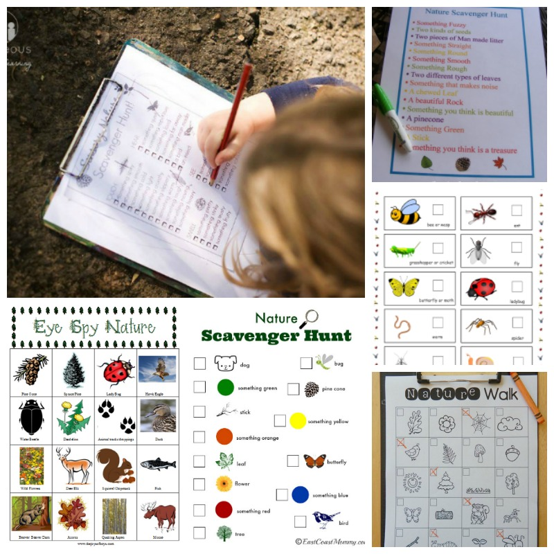 printable scavenger hunts for family fun