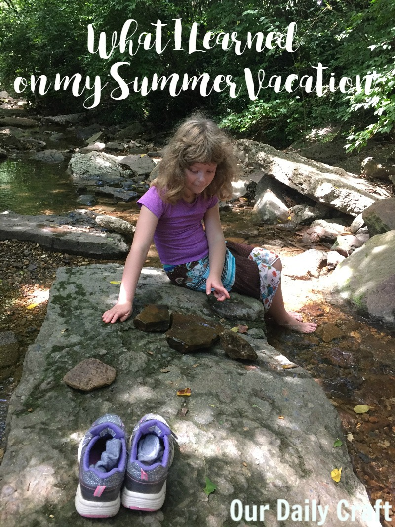 What I learned about blogging and life on my summer vacation