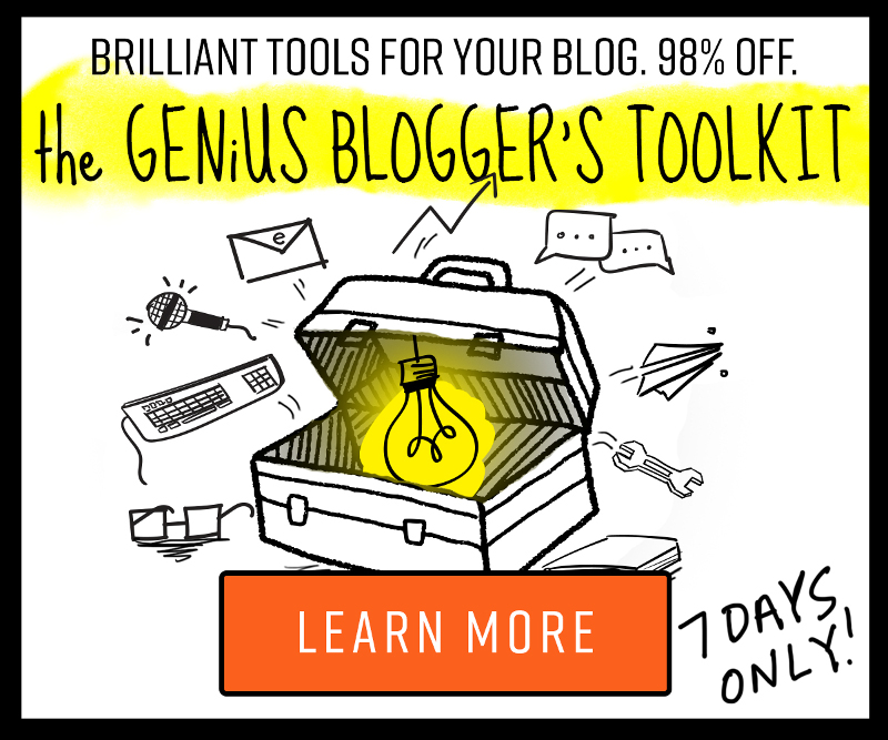 genius blooger's toolkit