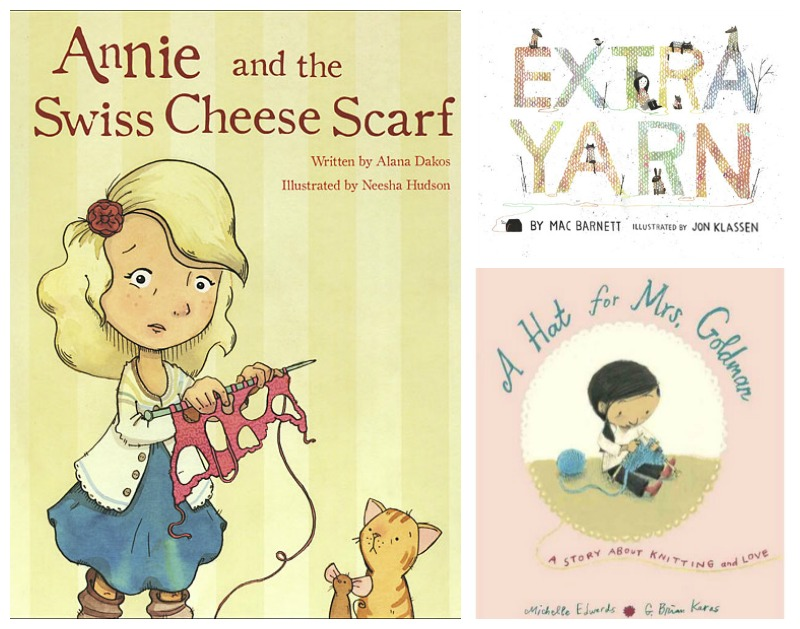 picture books about knitting