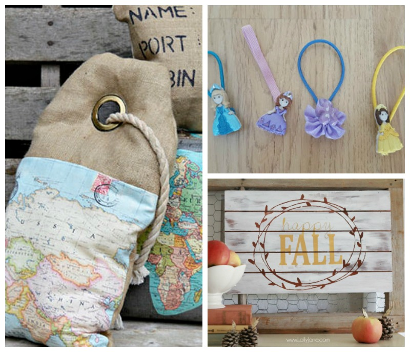 Creatively Crafty link party features week 38