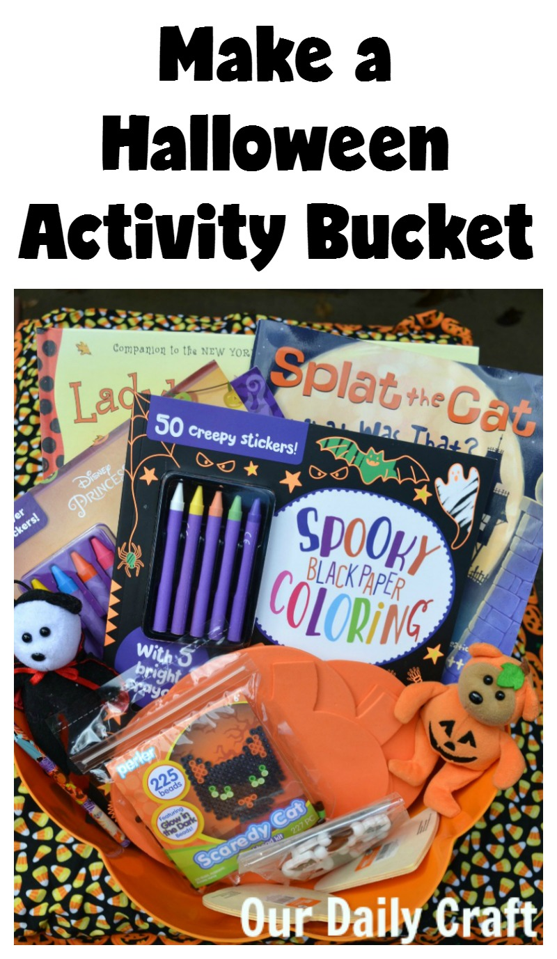 Make a Halloween Activity Bucket for Halloween Fun