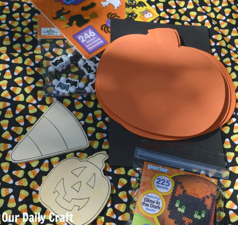 Halloween coloring books and crafts make fun a fun Halloween activity bucket for kids..