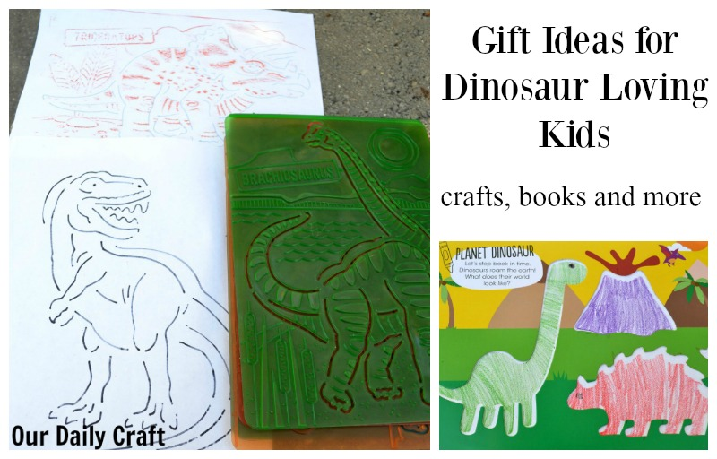 Gift Ideas for Dinosaur Loving Kids