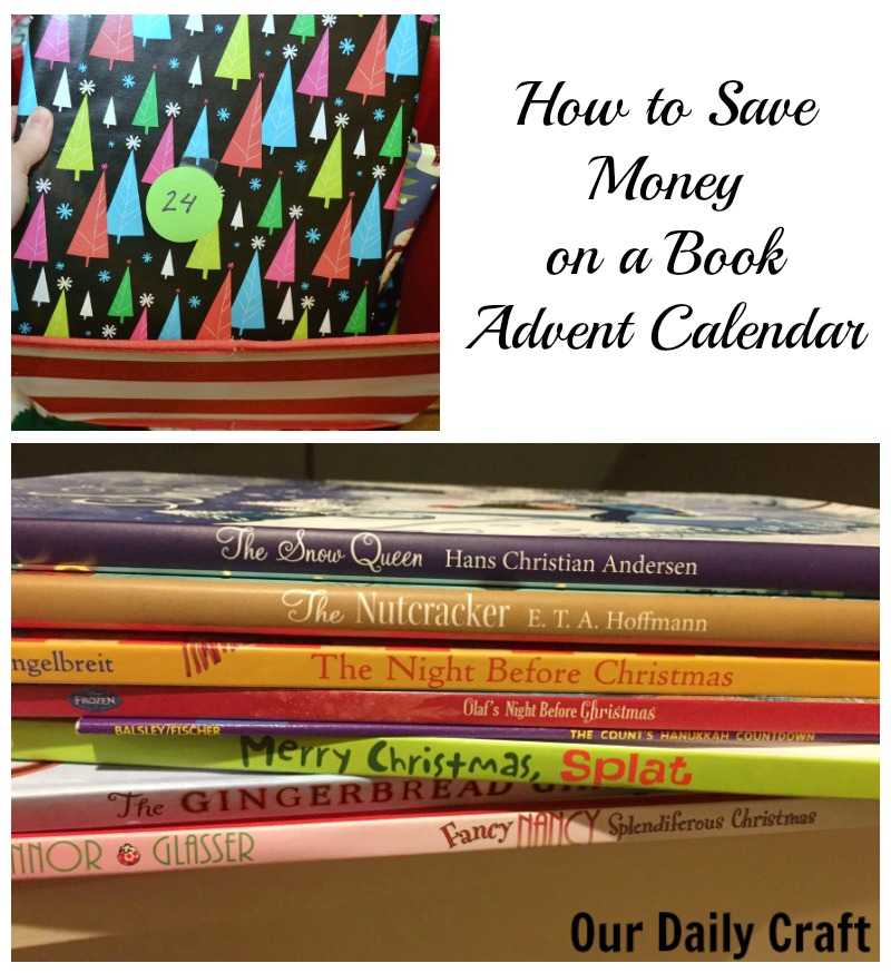 How to save money on a book advent calendar