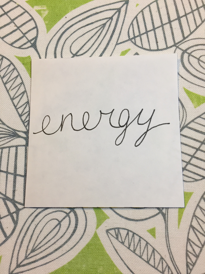 energy little word