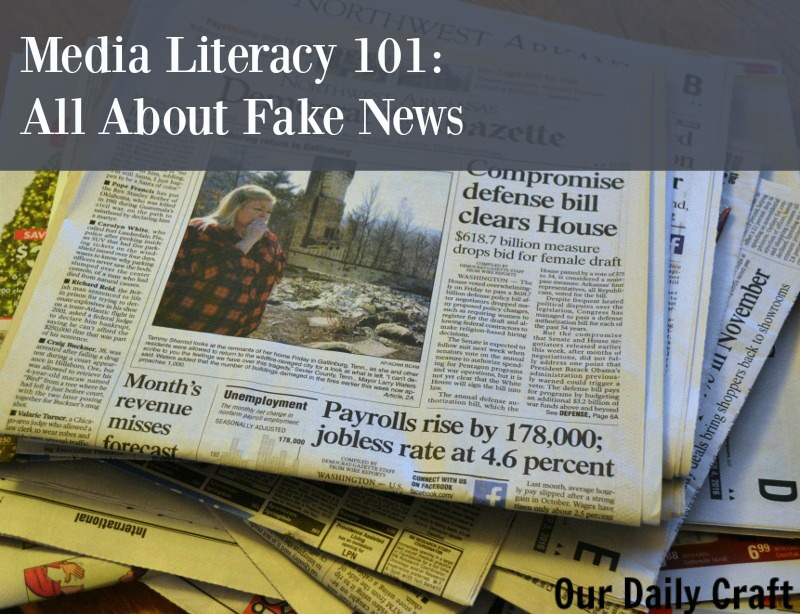Media literacy 101: what is fake news, why is it such a problem, and what can we do about it?