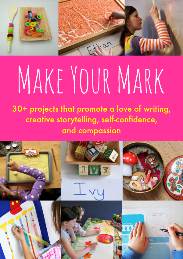 Encourage your kids to write and tell stories with Make Your Mark.
