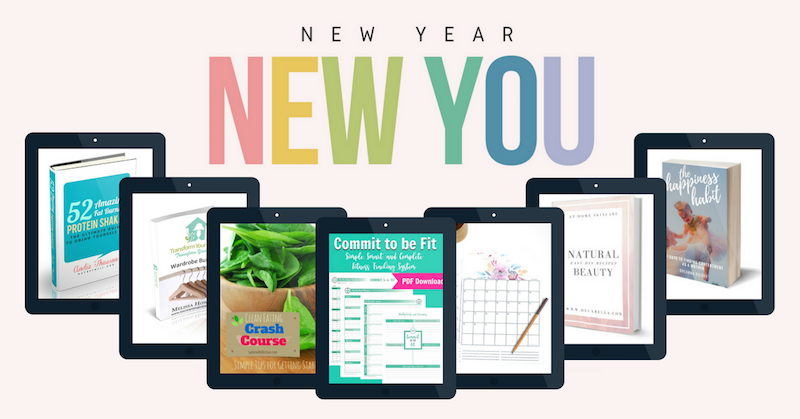 Change your life this year with the New Year, New You Bundle.