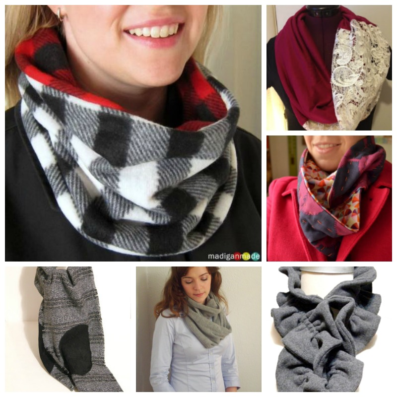 Sew an infinity scarf for yourself, your friends, your kids and #givewarmth.