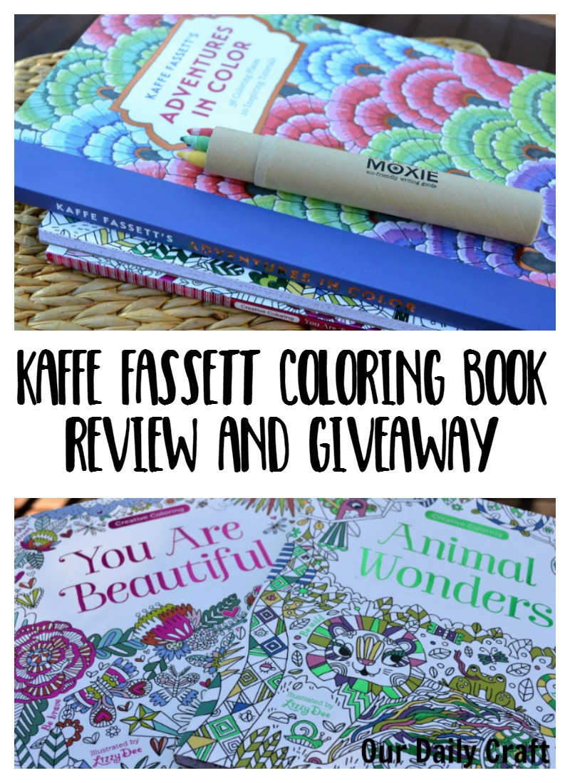 Check Out this Gorgeous Coloring Book from Kaffe Fassett {and a Giveaway}
