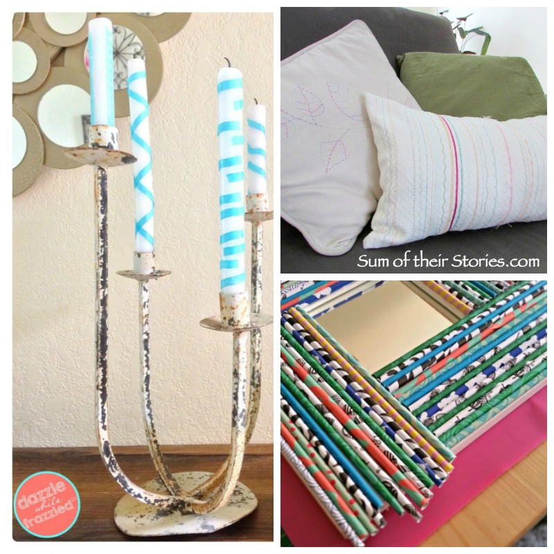 Creatively Crafty link party week 55 features