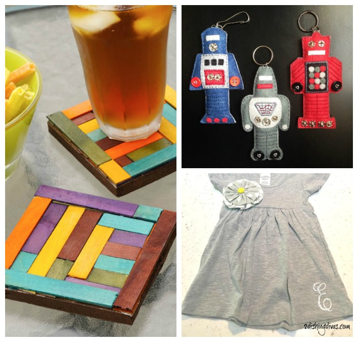 Creatively Crafty link party features, week 56