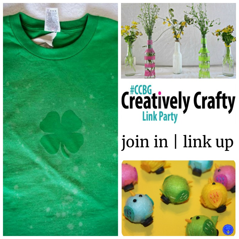 Creatively Crafty Link Party features, week 58
