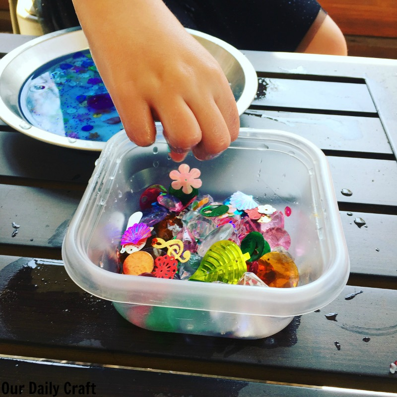 Your kids will love this frozen science activity, a fun way to learn while beating the heat.