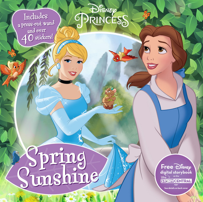 Disney activity books for when you're on the go this spring