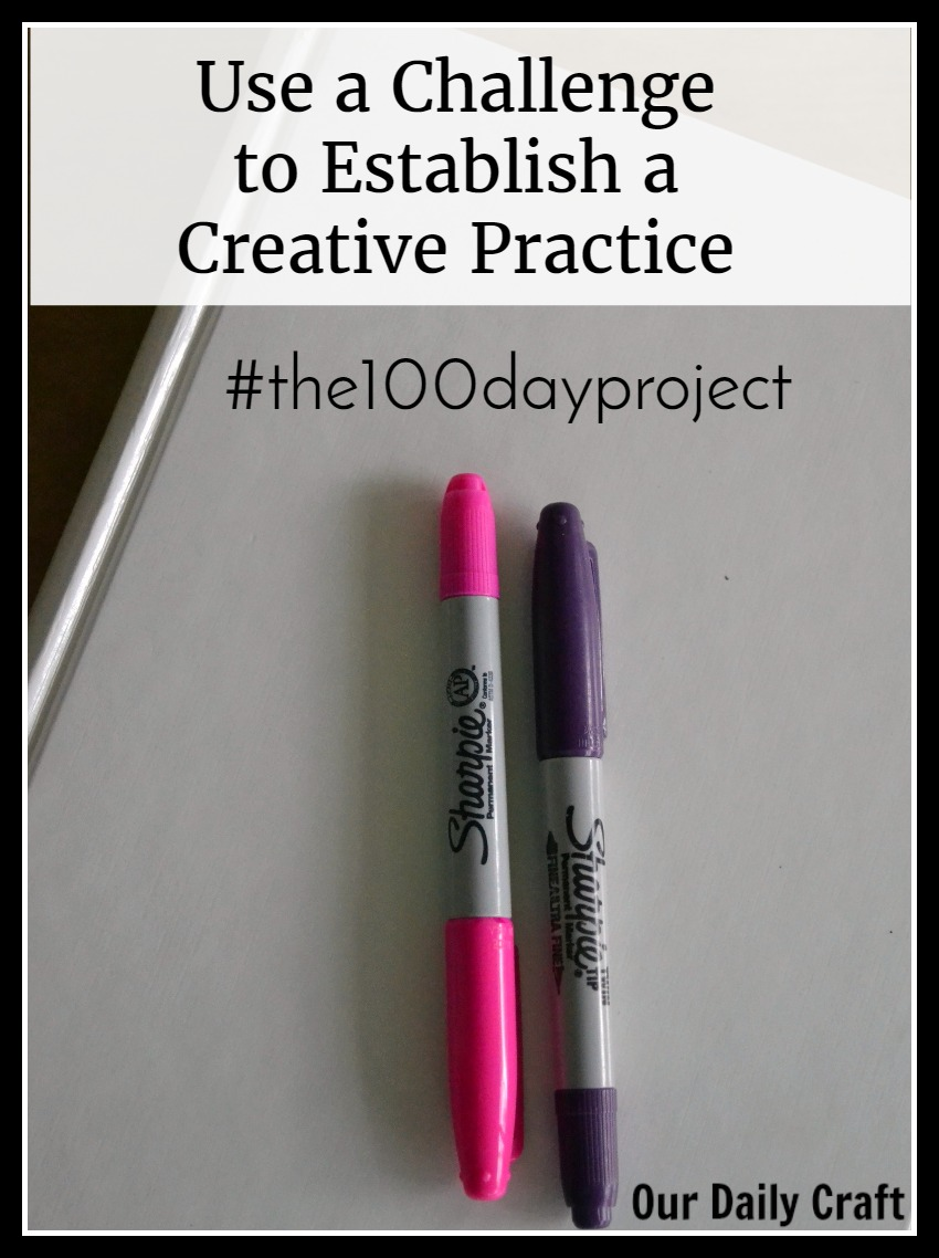 Use a challenge to establish a creative practice